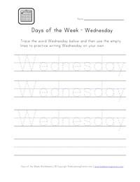 math worksheet : days of the week worksheets  kids learning station : Days Of The Week Worksheets For Kindergarten