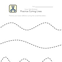cutting curved lines