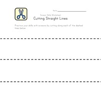 cutting straight lines