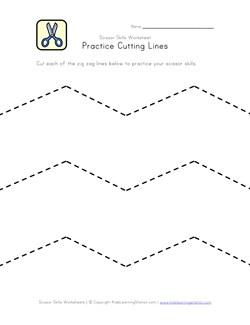 math worksheet : scissor skills worksheets for kids  kids learning station : Fine Motor Worksheets For Kindergarten
