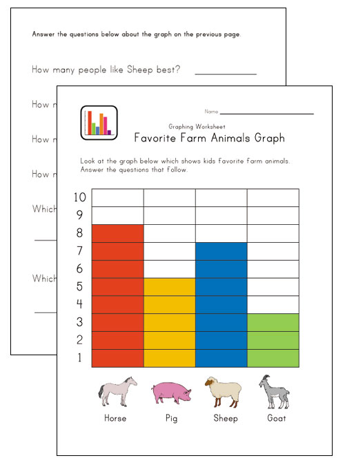 graphing worksheet bar graph for kindergarten Quotes