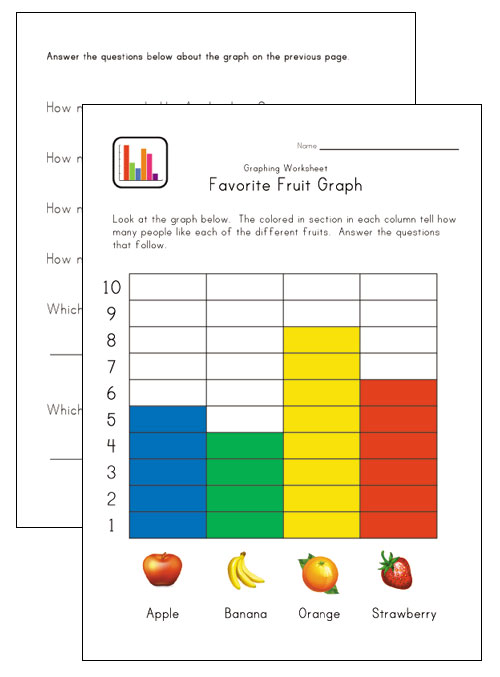 Graphing Worksheets For Kindergarten – Graphing Worksheets Kindergarten