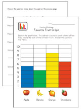 graphing worksheet fruit