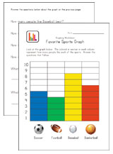 graphing worksheet sports