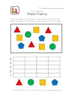 Kindergarten Graphing Worksheet | Kids Learning Station