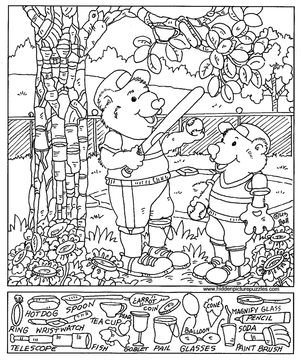 and find coloring pages - photo#8