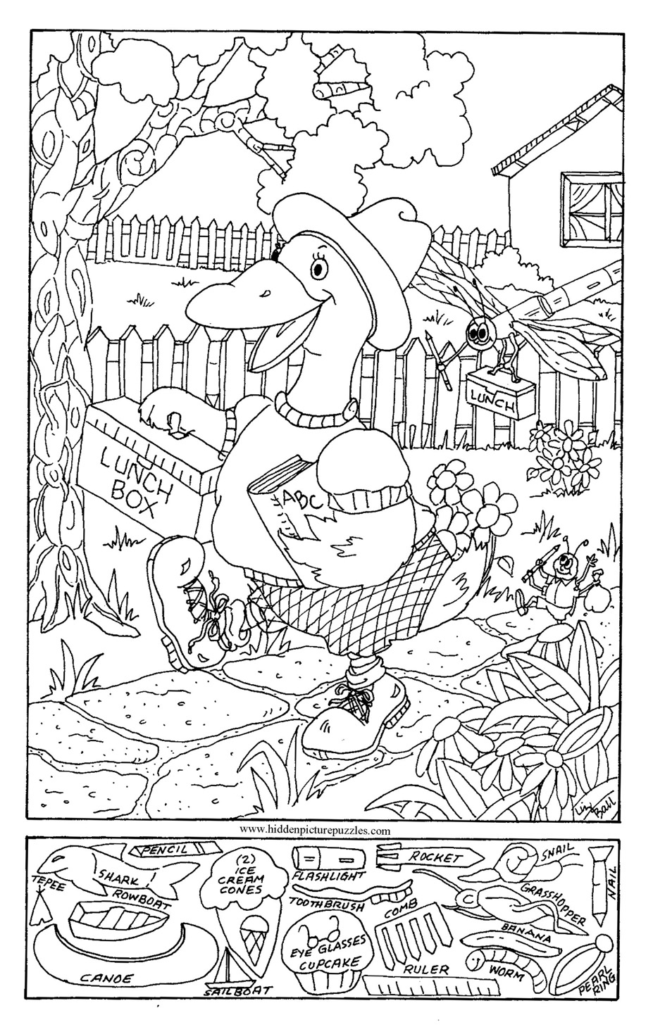 and find coloring pages - photo#3