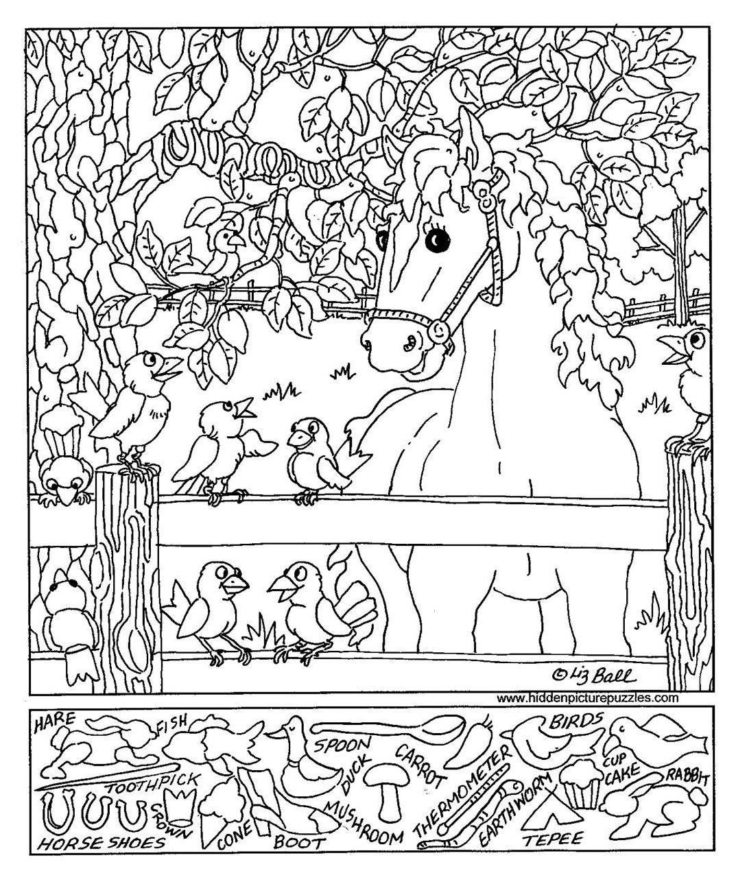 and find coloring pages - photo#24