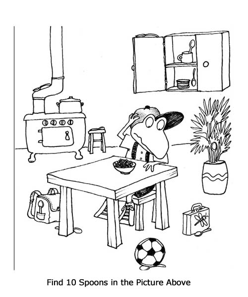 Hidden Pictures Worksheets Our English Site – Hidden Pictures Worksheets