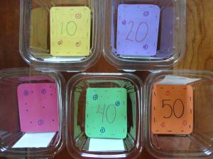 100th day game containers