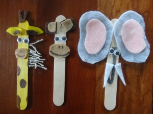 zoo theme birthday craft