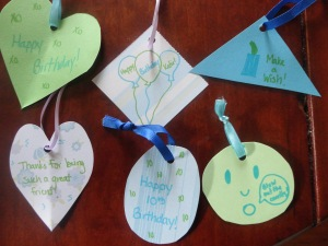 birthday tree ornaments