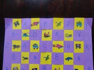 kids placemat craft