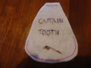 captain toothbrush cape