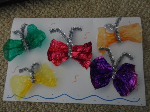 butterfly card craft