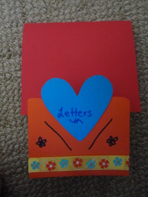 card holder craft