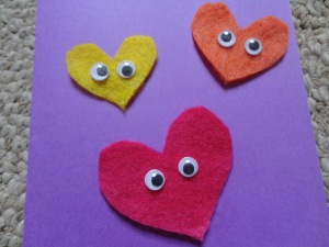 heart card craft