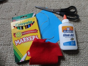 kite card craft materials