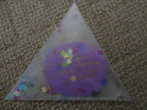 see through envelope card craft