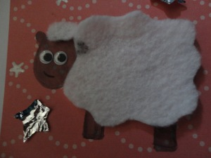 ewe are a star sheep card