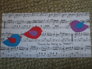 you are so tweet card craft