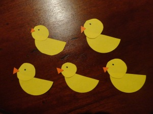 ducks craft for kids