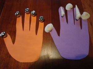 mary mary quite contrary handprint craft