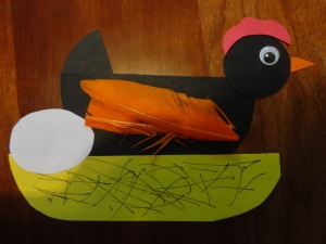 hickety pickety black hen nursery rhyme craft