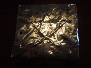 twinkle twinkle little foil star