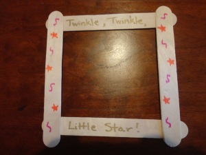 twinkle twinkle little star craft for kids