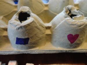 egg carton shapes