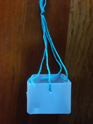 milk carton mobile craft