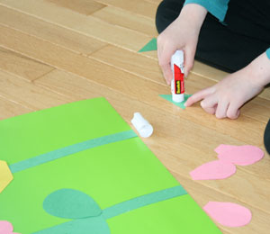 kids shape craft