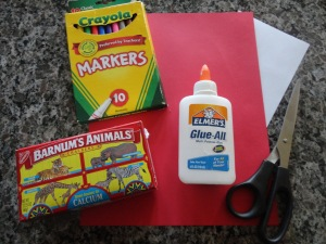 national carnival day craft materials
