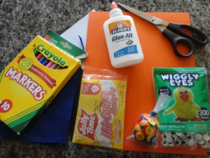 national popcorn day craft materials