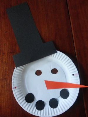 snowman dress up craft