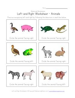 math worksheet : left right worksheets  kids learning station : Aaa Math Worksheets
