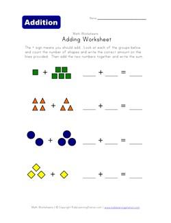 math worksheet : adding worksheets  kids learning station : Basic Addition Worksheet