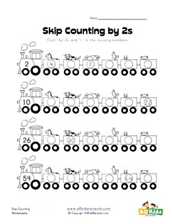 math worksheet : skip counting by twos worksheet  kids learning station : Multiplication Skip Counting Worksheets