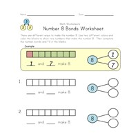 number 8 bonds worksheet