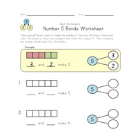number 5 bonds worksheet