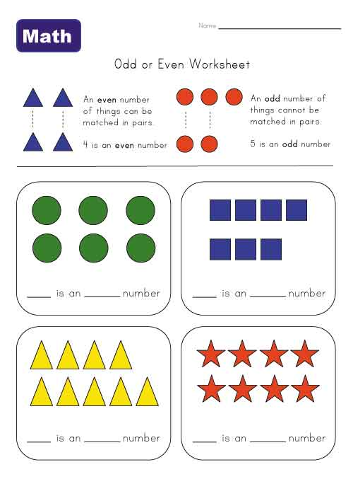 Number Names Worksheets even and odd numbers worksheet : Odd And Even Numbers - Lessons - TES Teach