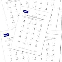 math worksheet : multiplication worksheets for kids  kids learning station : Single Digit Multiplication Worksheet