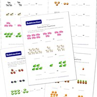 math worksheet : subtraction worksheets for kids  kids learning station : Worksheet Subtraction