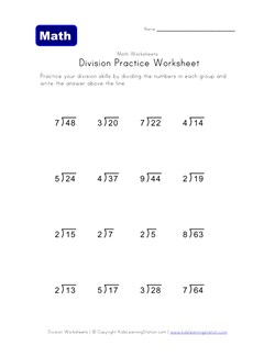 math worksheet : worksheets for ision by chunking  the best and most  : Division By Chunking Worksheets