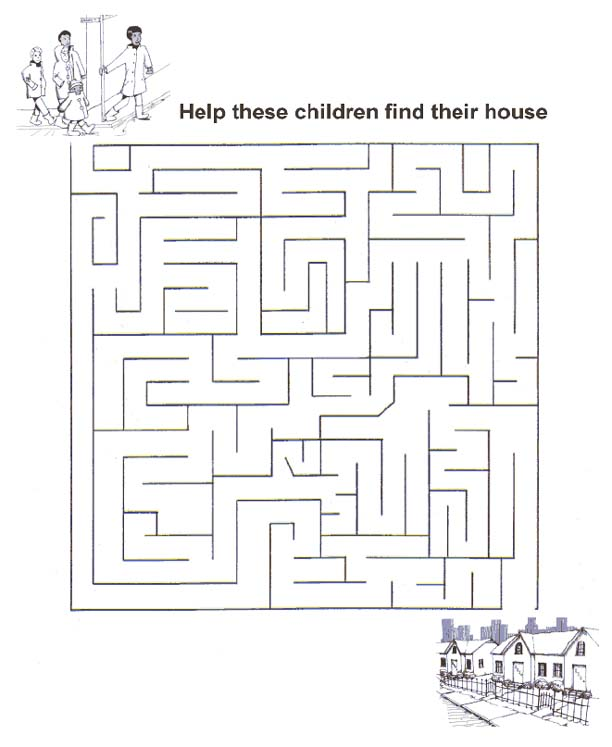 math worksheet : free printable mazes for kids at allkidsnetwork  : Mazes For Kindergarten Worksheets