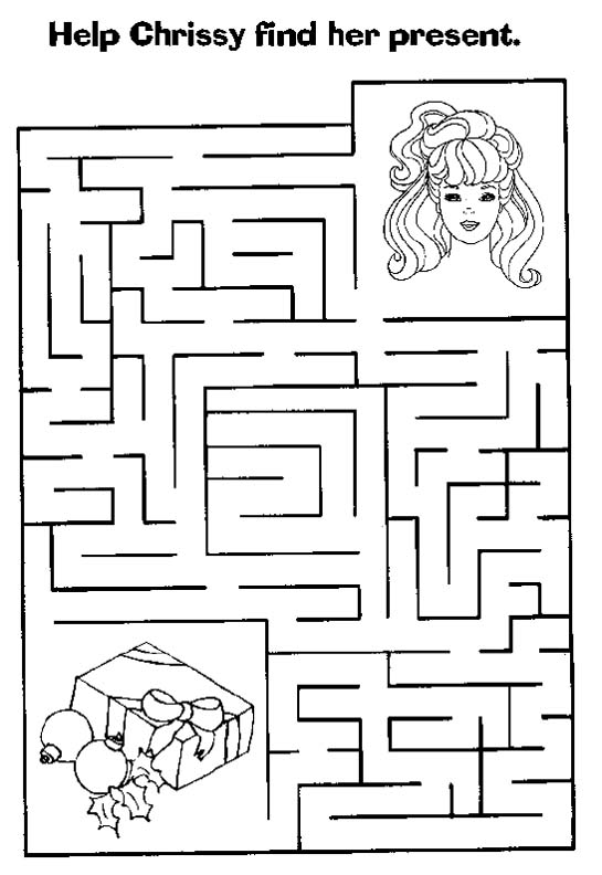for preschool holiday activity free printable christmas mazes for kids