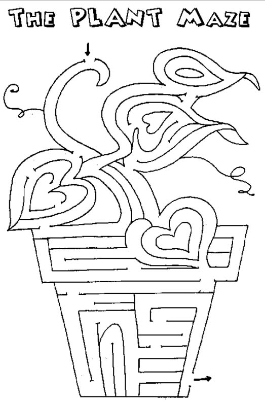 free student plant coloring pages - photo#8