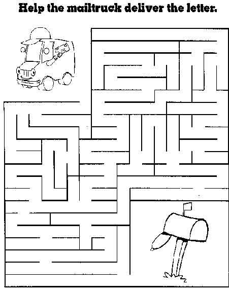 Free Printable Mazes for Kids at AllKidsNetwork.com