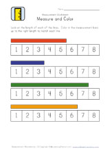 easy measurement worksheet length